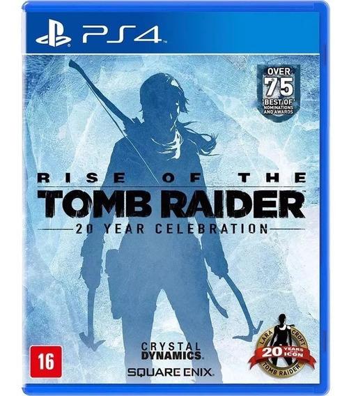 Rise Of The Tomb Raider Pt Br Ps4 Lacrado!