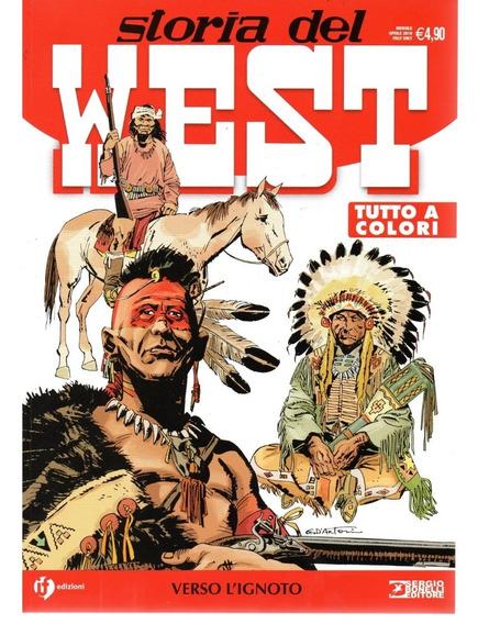Storia Del West 1 C/peq Dano - Sbe 01 - Bonellihq Cx344 H19
