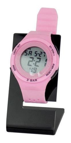 Relógio Feminino Infantil Original Prova D´água Silicone