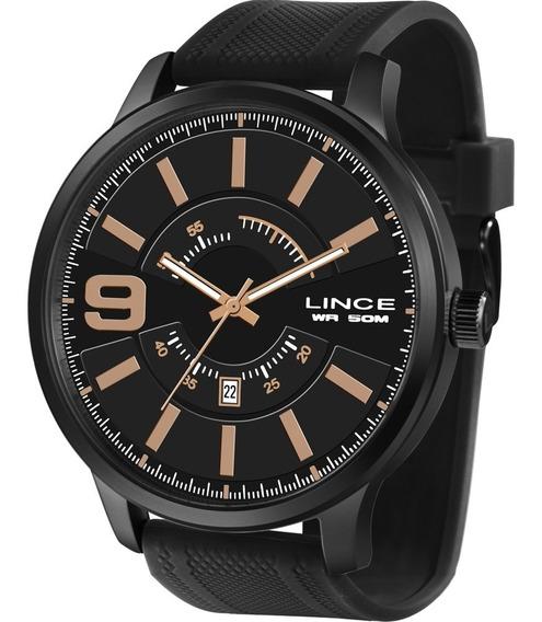 Relógio Lince Masculino Original Garantia Nota Mrph097sp2px