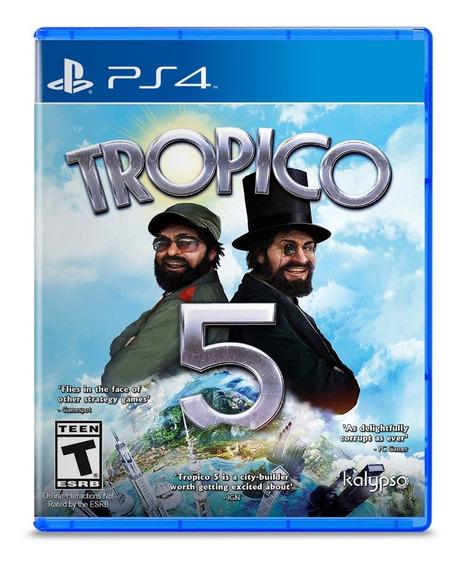 Tropico 5 - Ps4 - Lacrado