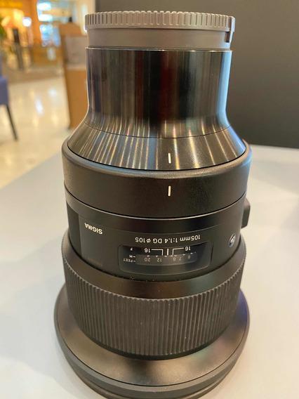 Lente 105 1.4 Sigma Art Para Sony E-mount