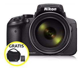 Cámara Nikon Coolpix P900 Negro Super Zoom