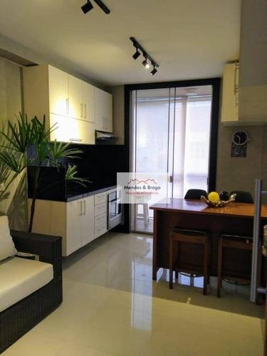 Studio À Venda, 36 M² Por R$ 325.000,00 - Vila Augusta - Guarulhos/sp - St0024