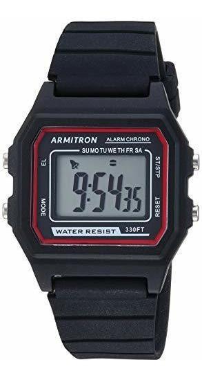 Armitron Sport - Reloj Cronógrafo Digital Unisex, Correa De