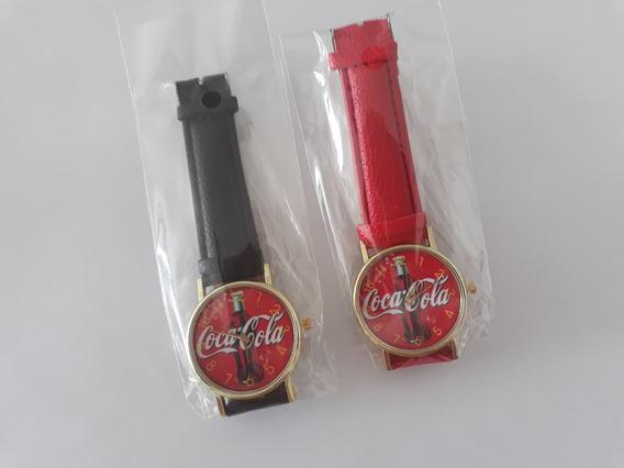 Relógio Temático Coca-cola (p Colecionadores) Frete Grátis