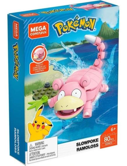 Slowpoke Pokemon Mega Construx Mattel