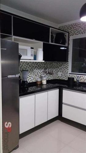 Imagem 1 de 11 de Sobrado Com 2 Dormitórios À Venda, 85 M² Por R$ 350.000,00 - Loteamento City Jaragua - São Paulo/sp - So1309v