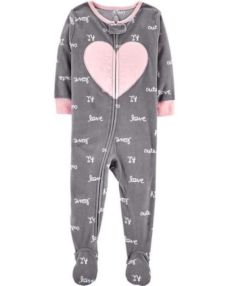 Pijama Micropolar De Niña Importado Carters