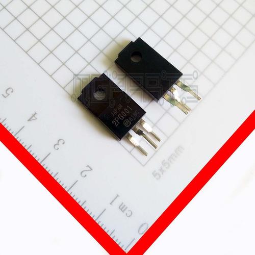 2pg001 Transistor Igbt Panasonic 300v 30a Ot4