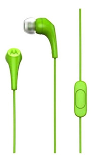 Audífonos Motorola Earbuds 2 verde