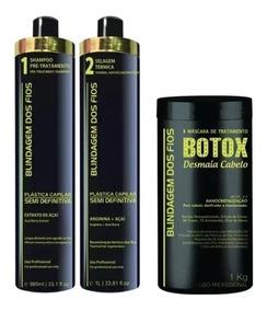 Blindagem Dos Fios Plastica Dos Fios Selagem Termica + Botox
