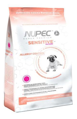 Imagen 1 de 1 de Alimento Nupec Nutrición Especializada Sensitive para perro de raza pequeña sabor mix en bolsa de 8kg