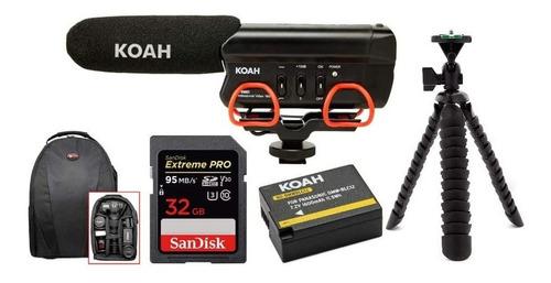Combo Kit Accesorios Koah Focus Para Cámara Digital