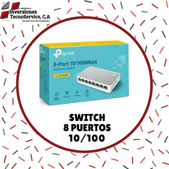 Switch 8 Puertos 10/100 Tp-link