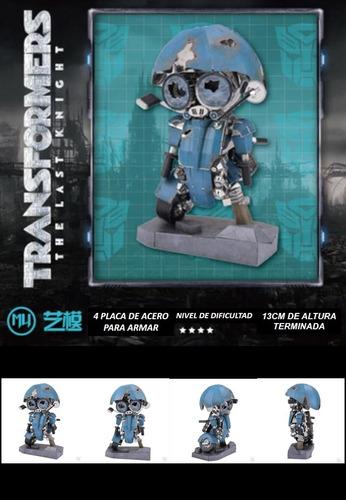 Transformer 5 Herocross Maqueta Metalicas P/armar Mu