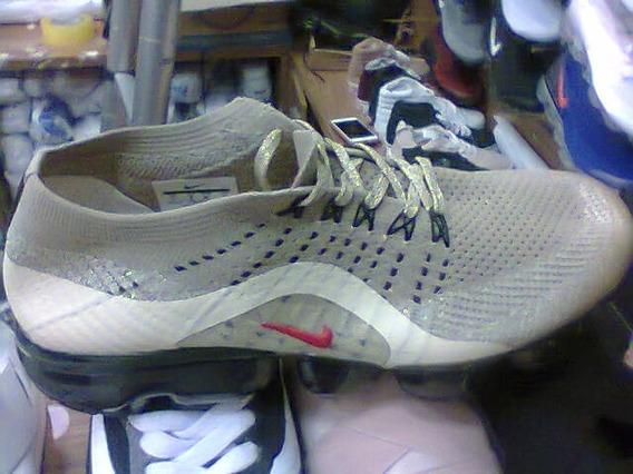 Tenis Nike Vapormax Marrom Claro E Bege Nº38 Ao 43 Original