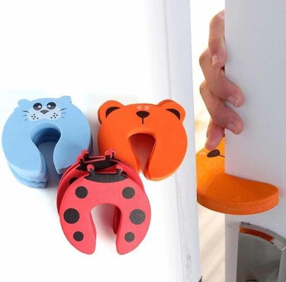 Traba Puerta Bebe Protector De Dedos Pack X 4 De Goma Eva Diseños Variados Separador Seguridad Niños Ohmyshop