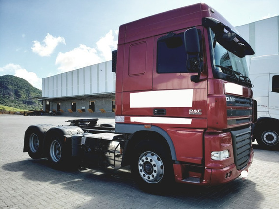 Daf Xf 105 Fts 460 A 6x2 Ano 2015/2016 = Fh540 Scania 480