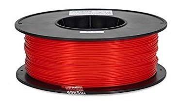 Filamento Pla 1,75 Mm Vermelho 1kg Para Impressora 3d - Nfe
