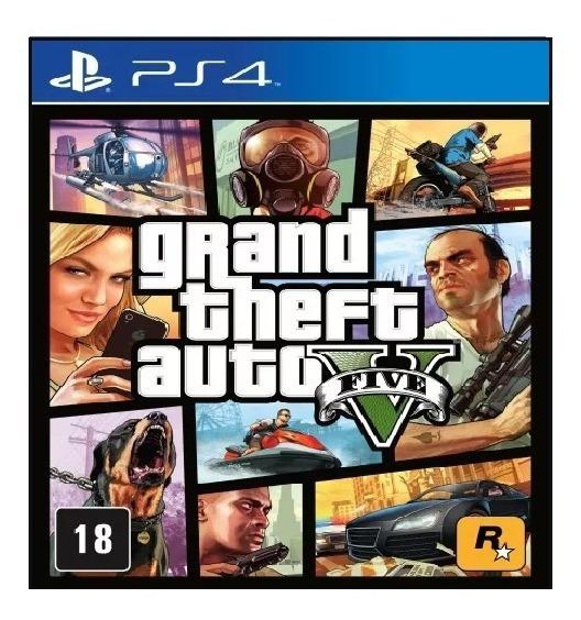 Grand Theft Auto Gta 5 V Ps4 - Leia A Descrição Do Produto