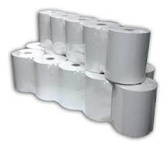 Rollo Termico 80 X 65 Mm Paquete De 10 Rollos
