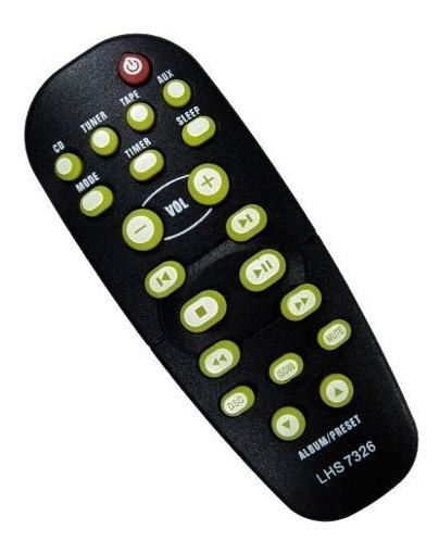Controle Som Philips Micro System Mcm 250 Mcm250 Novo