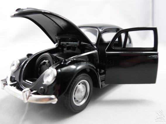 Volkswagen Fusca Clássico 1967 Abre Portas & Capô Preto