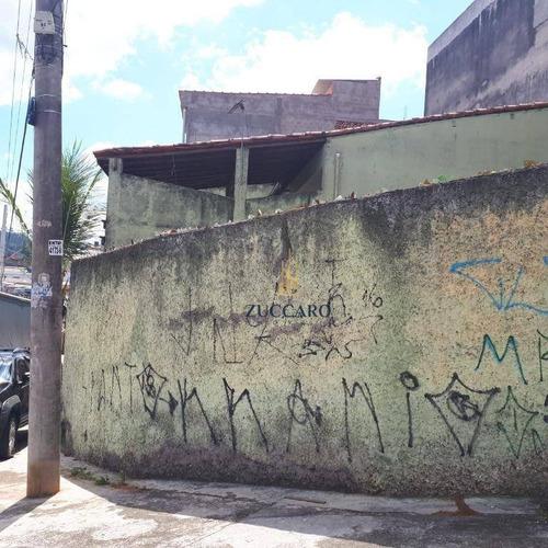 Terreno À Venda, 200 M² Por R$ 299.000,00 - Cidade Soberana - Guarulhos/sp - Te0952