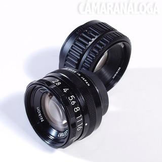 Laboratorio: El-nikkor 50mm F2.8. Para Ampliadora.