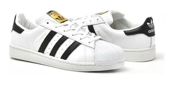 Tênis adidas Superstar Street Original. Em Promoção.