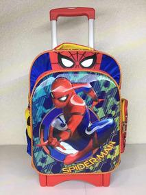 Mochila De Carrito Spider Man, Original Primaria