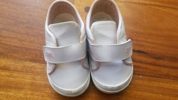 Zapatillas Escolares Cheeky Talle 20, Como Nuevas