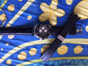 Relógio Aldemars Piguet Couro+ Pulseira De Borracha