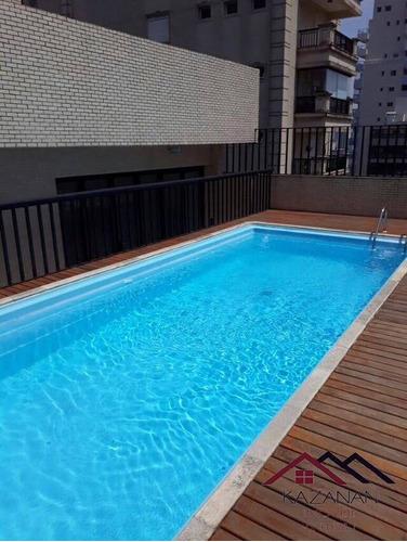 Imagem 1 de 15 de 3 Dormitórios - Boqueirão - Edifício Rodin Santos - 2026