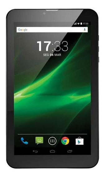 "Tablet Multilaser Nb247 M9 9"" 3g Quad Core Bluetooh Pr"