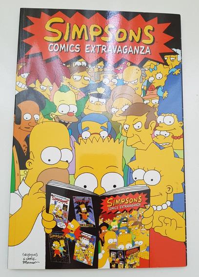 Simpsons Comics Extravaganza 130 Páginas Em Inglês