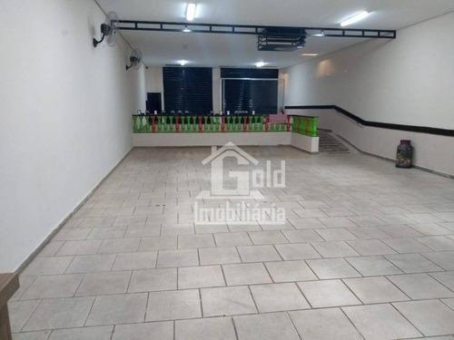 Imagem 1 de 11 de Salão Para Alugar, 300 M² Por R$ 5.000,00/mês - Jardim Paulista - Ribeirão Preto/sp - Sl0206