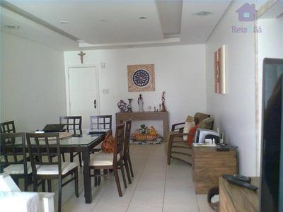 Apartamento Residencial À Venda, Costa Azul, Salvador. - Ap0362