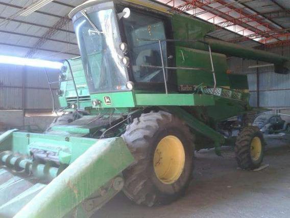 Trilladora John Deere 7720 ; Trilladora Agricola