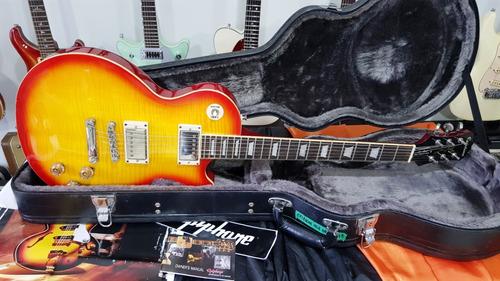 Imagem 1 de 10 de Guitarra EpiPhone Les Paul Tribute 60 Plus Caps Gibson Case