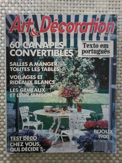 Revista Art Et Decoration - No. 302 - Textos Em Português