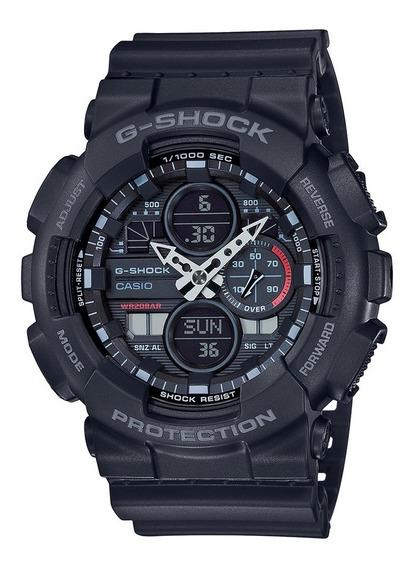 Relógio Casio Masculino G-shock Anadigi Ga-140-1a1dr
