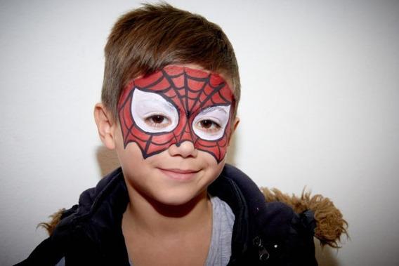 Maquillaje Artístico Infantil Para Cumpleaños Y Eventos