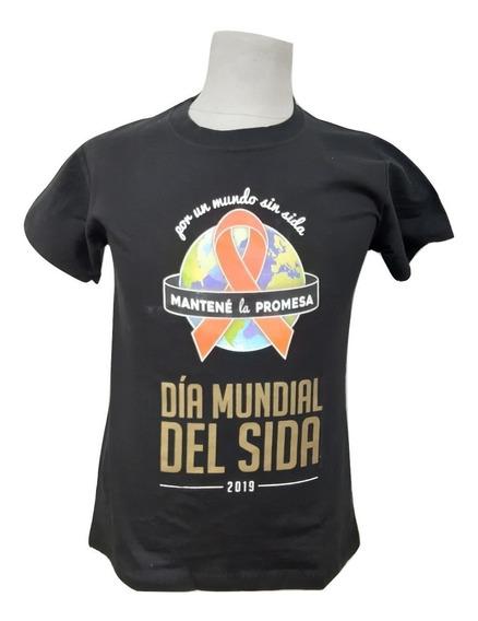 Remera Estampada Por Mayor 50 Unidades Logo Publicidad