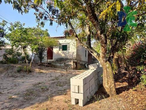 Chácara Com 2 Dormitórios, 1366 M² - Venda Por R$ 225.000,00 Ou Aluguel Por R$ 750,00/mês - Chácaras Reunidas Igarapés - Jacareí/sp - Ch0071
