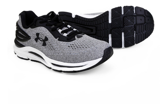 Tênis Under Armour Charged Spread Masculino Cinza - Original