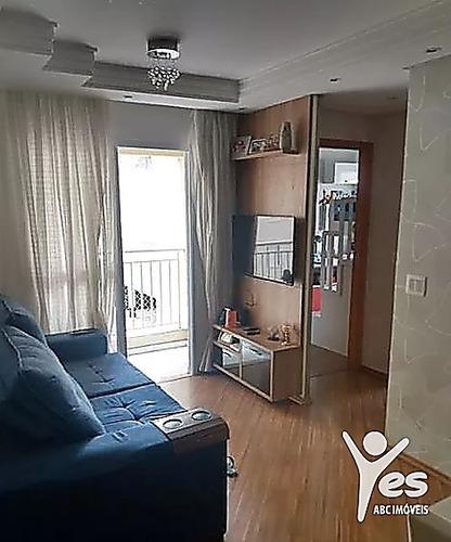 Imagem 1 de 12 de Ref.: 2532 - Apartamento, 02 Dormitórios, 01 Vaga De Garagem, Mobiliado, Utinga, Santo André - 2532
