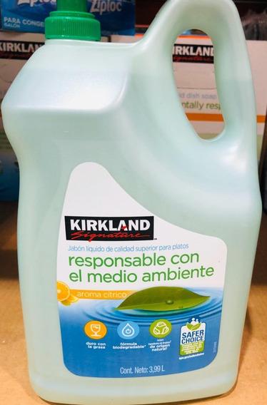Lava Trastes Liquido .3,99 Lts Kirkland