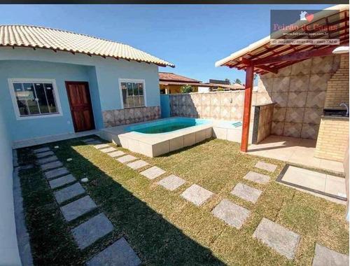 Imagem 1 de 16 de Casa Com 2 Dormitórios À Venda, 54 M² Por R$ 120.000,00 - Unamar - Cabo Frio/rj - Ca0176